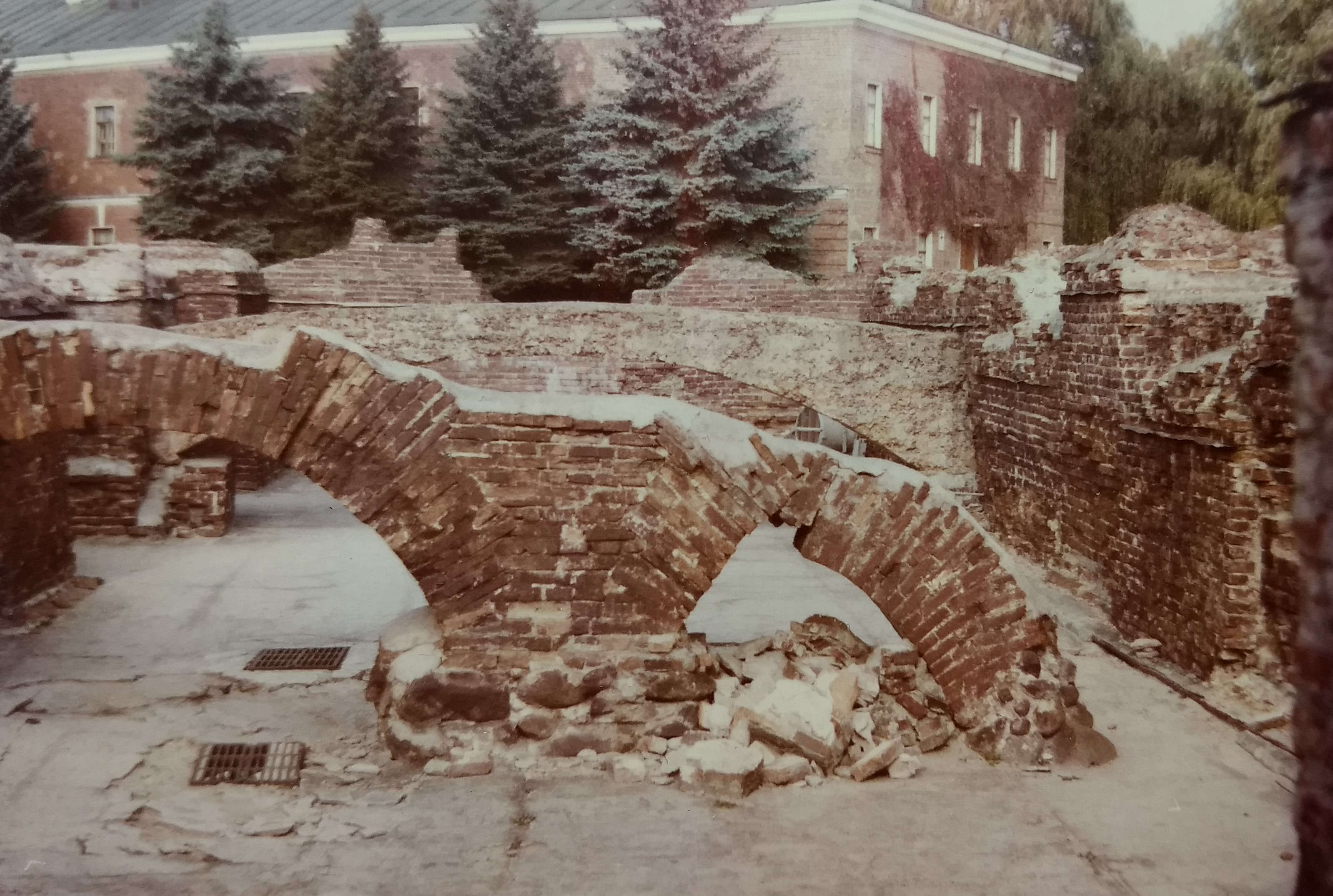 Weltkriegsruinen Brest Foto Hilmar Preuß 1988