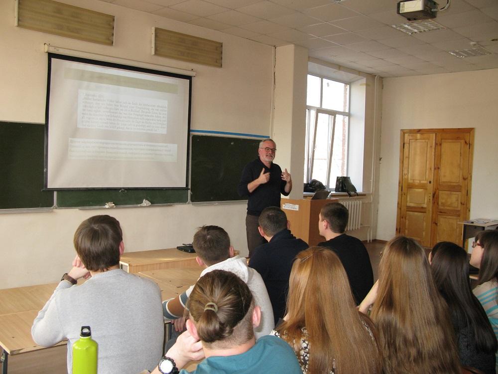 Vorlesung an der Universität Voronesh 2017 web